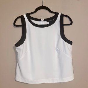 White House Black Market Tank Top White M
